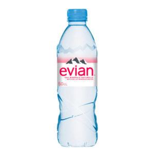 Boutielle d'eau Evian