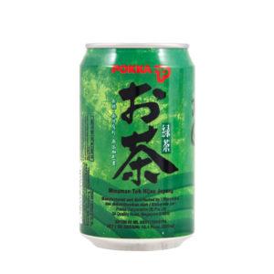Thé vert japonais canette
